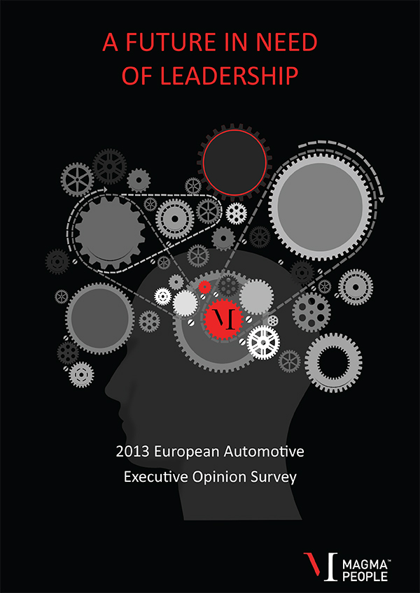 2013 European Automotive Executive Opinion Survey