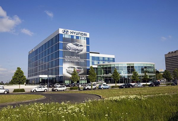 Hyundai European Headquarters in Germany