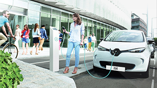 Renault Zoe about to be charged