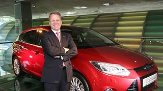 Ford of Britain chairman and managing director Mark Ovenden